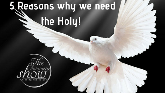5 Reasons why we need the Holy Spirit!