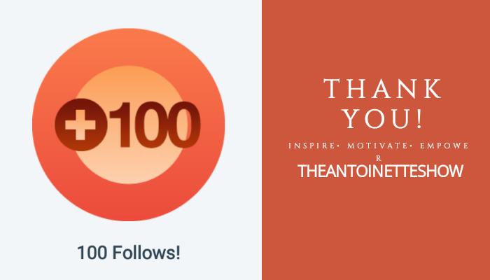 100+ Followers….